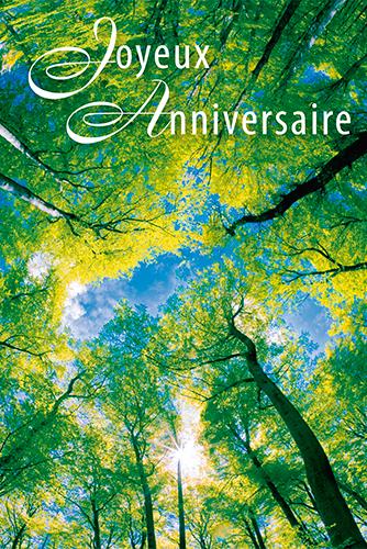 Carte Anniversaire Nature.Joyeux Anniversaire